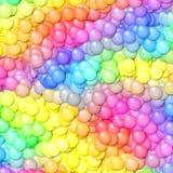 Pastel balls seamless pattern texture vector illustration
