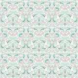 Pastel baroque pattern Stock Photography