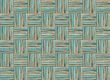 Pastel base squares vertical horizontal stripes beige and blue endless series,  base  rustic wrapper Stock Photo