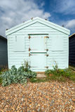 Pastel Beach Hut Royalty Free Stock Photo