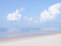 Pastel beach Royalty Free Stock Photography