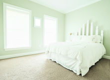 Pastel Bedroom Interior Royalty Free Stock Image