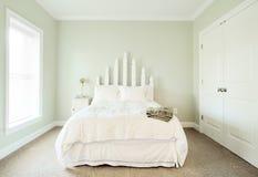 Pastel Bedroom Interior Stock Image