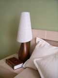 PASTEL BEDSIDE Stock Photography