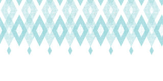 Pastel blue fabric ikat diamond horizontal