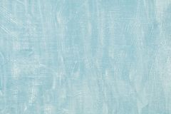 Pastel blue grunge concrete cement banner background. Plaster stucco texture pattern wall decoration.  royalty free stock photo