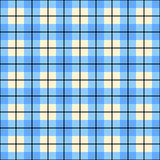 Pastel blue plaid gingham background. Checkered pattern Royalty Free Stock Photos