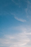 Pastel Blue Sky royalty free stock photo