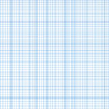 Pastel blue stripes plaid Stock Image