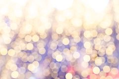 Pastel bokeh abstract backgrounds of with circle lights stock photography