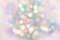 Pastel Bokeh Lights stock photo