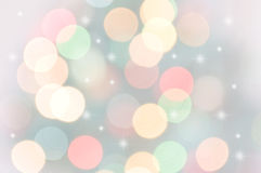 Pastel Bokeh Lights Royalty Free Stock Photo