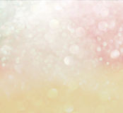 Pastel bokeh lights. defocused lights background Royalty Free Stock Photo