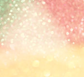 Pastel bokeh lights or multicolored defocused lights Stock Photo