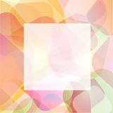 Pastel border Royalty Free Stock Image