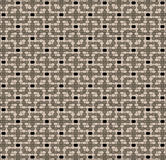 Pastel brown mosaic Royalty Free Stock Photos