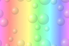 Pastel bubbles Stock Photo