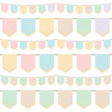 Pastel bunting Stock Photos