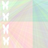 Pastel butterfly background Stock Image