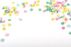 Pastel Candy Border Stock Image