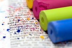 Pastel chalk Stock Image