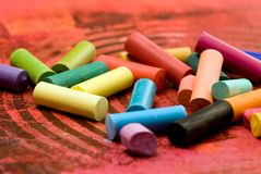 Pastel chalk Royalty Free Stock Photos