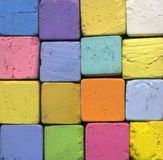 Pastel Chalk Stock Images