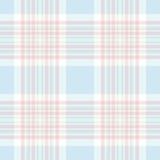 Pastel check seamless pattern. Vector illustration. Flat design. EPS10 Stock Photography