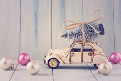 Pastel christmas Stock Images