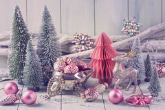 Pastel christmas Royalty Free Stock Photography