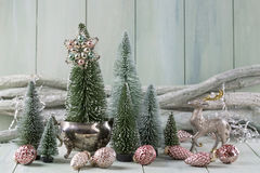 Pastel christmas Stock Photography