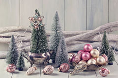 Pastel christmas Royalty Free Stock Images