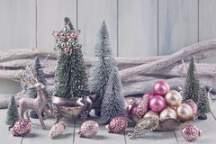 Pastel christmas Royalty Free Stock Image