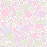 Pastel circle background Stock Image