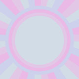 Pastel circle with  radius for abstract background, vector illus Stock Photo