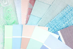 Pastel color design selection Royalty Free Stock Photo