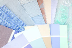 Pastel color design selection Stock Image