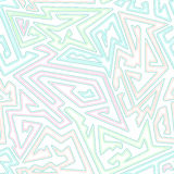Pastel color geometric seamless pattern Royalty Free Stock Photo