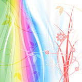 Pastel Color Indicates Florals Backdrop And Soft Stock Photo