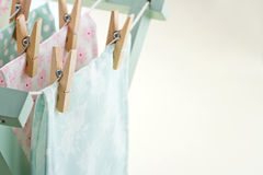 Pastel color laundry Royalty Free Stock Photography
