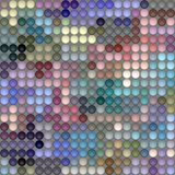 Pastel color rounds pattern Royalty Free Stock Images