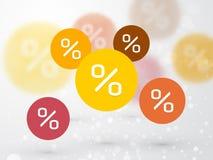 Pastel color sign discount sale Stock Photo