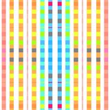 Pastel color square mosaic background design. Seamless Royalty Free Stock Photos