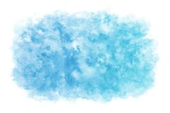Pastel color summer blue sky abstract or natural watercolor paint background