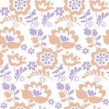 Pastel color traditional european Ukrainian ornament. Royalty Free Stock Photos