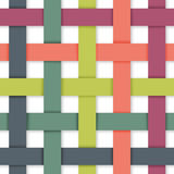 Pastel Color Weaving Royalty Free Stock Photography