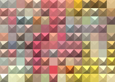 Pastel colored abstract geometric background Stock Images