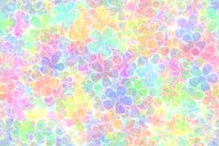Pastel colored background. Many little colorful flowers Royalty Free Stock Images