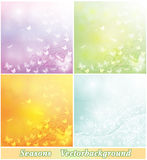 Pastel-colored backgrounds Royalty Free Stock Images