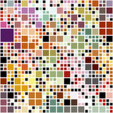 Pastel colored blocks pattern Stock Image